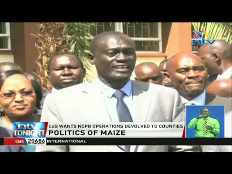 Maize politics: CoG holds a consultative meeting in Uasin Gishu