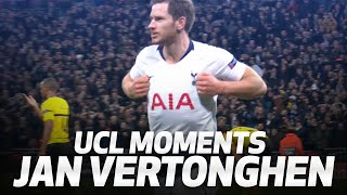 BEST UEFA CHAMPIONS LEAGUE MOMENTS | JAN VERTONGHEN