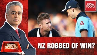 New Zealand Robbed Of Win Against England In ICC World Cup 2019? | News Today With Rajdeep