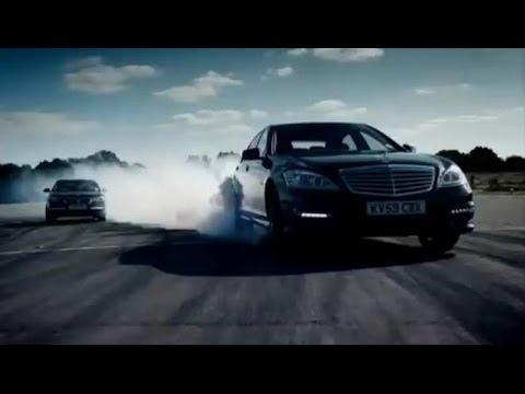 BMW 760Li vs Mercedes S63 AMG – Top Gear – BBC