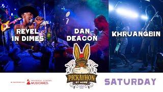 Pickathon at Home Fundraiser Saturday   Revel In Dimes   Dan Deacon   Khruangbin