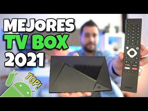 TOP MEJORES TV BOX con AndroidTV 2021