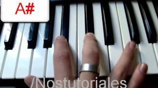 Mientes - CAMILA - Piano tutorial