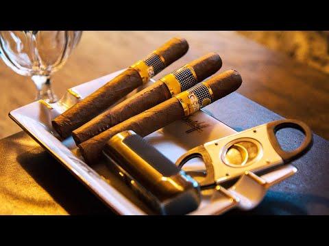How To Smoke A Cigar At Davidoff of London