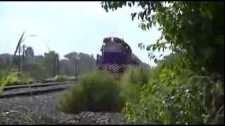 preview picture of video 'LSM: ALCO RSD-16 #B816 a su paso por Derqui rumbo a Retiro'