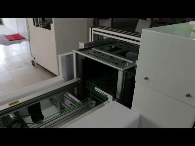 SMT Loader and Unloader for load and unload PCB board magazine storage racks   GOLDLAND