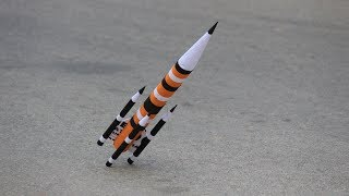 How to make a ROCKET from cardboard