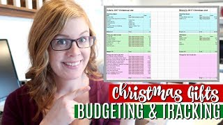 How to Budget and Track Your Christmas Shopping