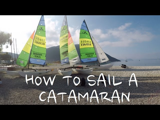 Basics of cat sailing - points of sail, sheet and traveller settings