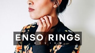 Enso Rings Review + GIVEAWAY! Slim + Cute Silicone Rings | Ariel Hamilton