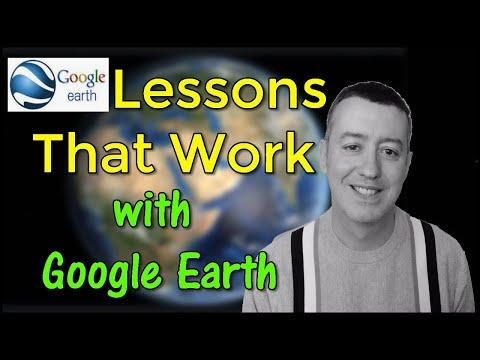 Lesson Ideas using technology-Blended/Online #googleearth #onlineteaching