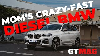 Mom's crazy fast diesel BMW!