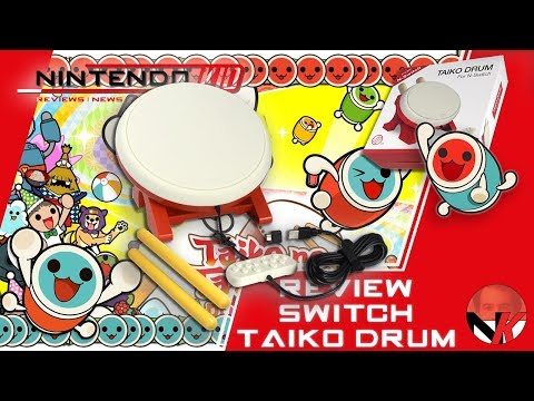 Taiko Drum Switch Accessory Review! Fun For The Family!