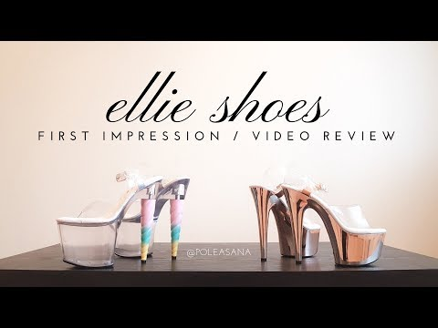 Pole Heels Unboxing featuring Ellie Shoes | Product Review / First Impression