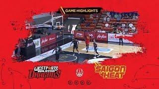 Highlights ABL9 || Away - Game 23: Westports Malaysia Dragons vs Saigon Heat 10/03