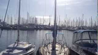 preview picture of video 'Yachthafen in Palma de Mallorca'