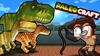 I Survive Minecraft with Jurassic DINOSAURS! (PaleoCraft)