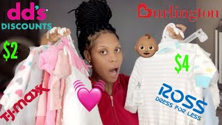 SUPER Affordable Baby Girl Clothing Haul 2020 (INCLUDES UNISEX CLOTHING)