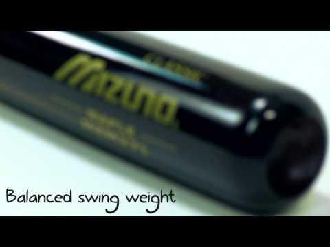 Mizuno Classic Maple Wood Baseball Bat: MZM271 Mahogany