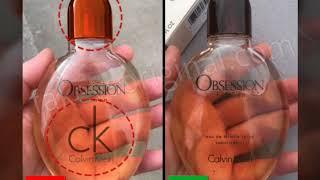 Fake Vs Real Calvin Klein Obsession For Men Perfume
