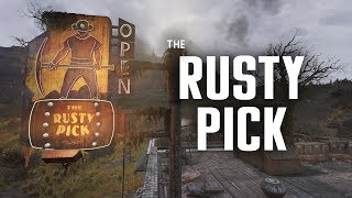 The Rusty Pick: Where Laid Off Miners Came to Scheme - Fallout 76 Lore
