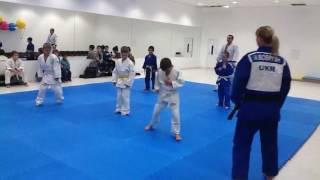 Показательное выступление. СК  дзюдо «Слобожанец» judo, Ukraine