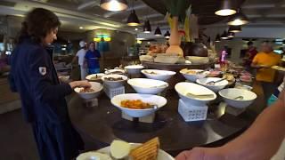 Чем кормят в Турции 2018, Отель 5* Отдых все включено! Шведский стол в Club Mega Saray Завтрак