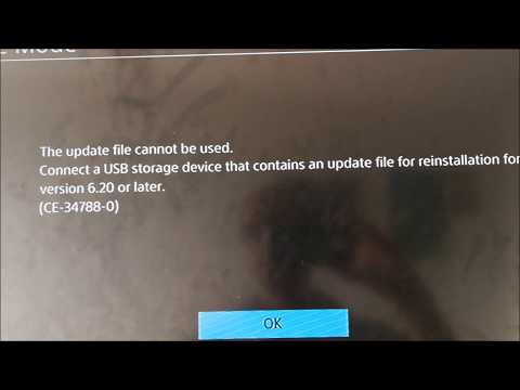 SOLVED!!!!!!! PS4 ERROR CODE CE-34788-0 FIXED PART 2 OF 3 - 4D