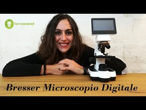 Recensione microscopio Bresser con display touchscreen e videocamera
