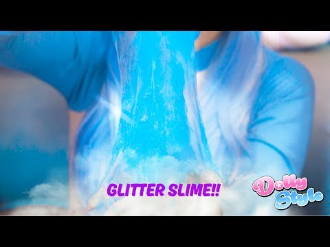GLITTER SLIME!!!