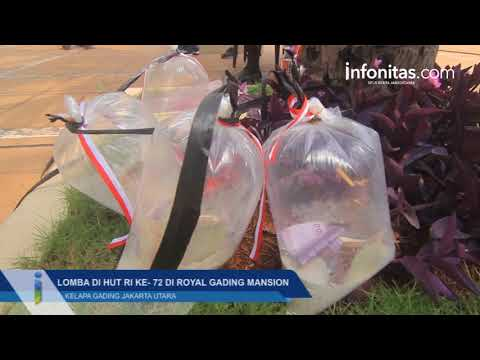 Lomba HUT RI ke- 72 di Royal Gading Mansion