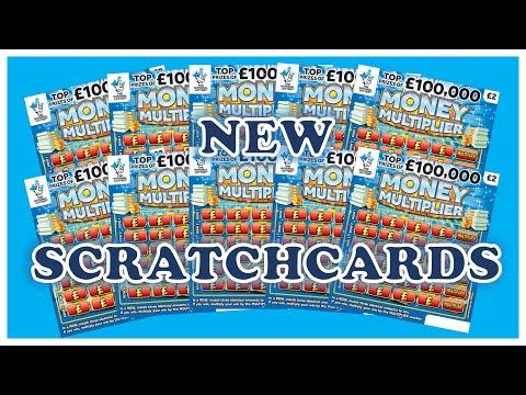 How Many Wins!? 😱 - New Money Multiplier Scratchcards