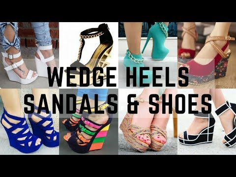 Wedge Heels, Sandals/Shoe/High Heels for Women | Fashion Moda Trends