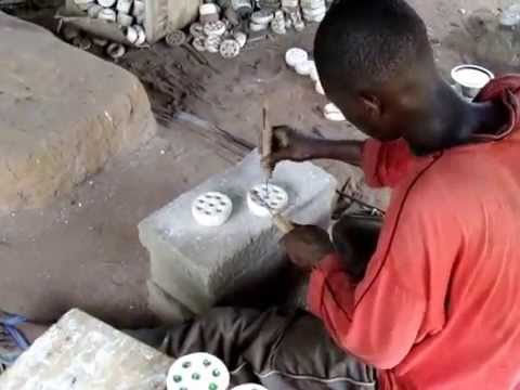 The beautiful art of Glass Bead making from Ghana