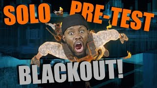 THE GRIND BEGINS! My First Blackout Solo Match - COD Blackout Solo Gameplay
