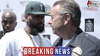 The Game Just Made The Biggest Mistake Of His Life TAUNTING The Law In Its's Face!!