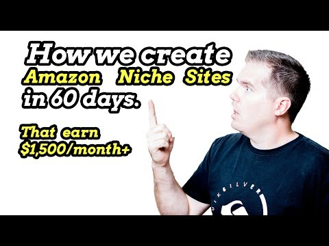 How to Create Profitable Amazon Niche Sites
