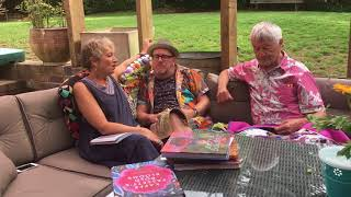 Kaffe Fassett And Brandon Mably In Conversation With Kathy Doughty