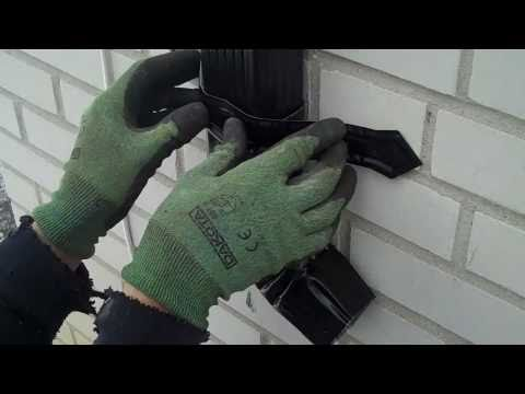 How To Install A Downspout Strap