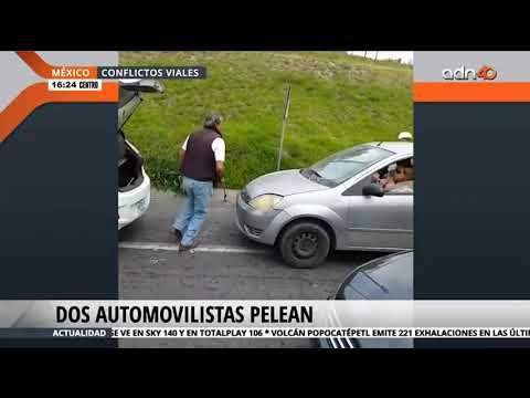 Peleas entre automovilistas - YouTube