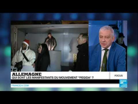 """Allemagne : Qui sont les manifestants du mouvement """"Pegida"""" ?"""