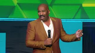 Steve Harvey at the Sagicor Motivational Seminar (SMS) 2019