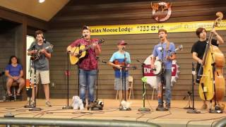 "Carson Peters and Iron Mountain Band ""Sadie's Got Her New Dress On"" Galax 2016"