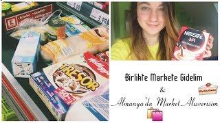 Birlikte Markete Gidelim & Almanya'da Market Alışverişi