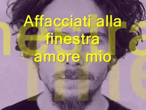 SERENATA RAP jovanotti lyric Learn italian singing)