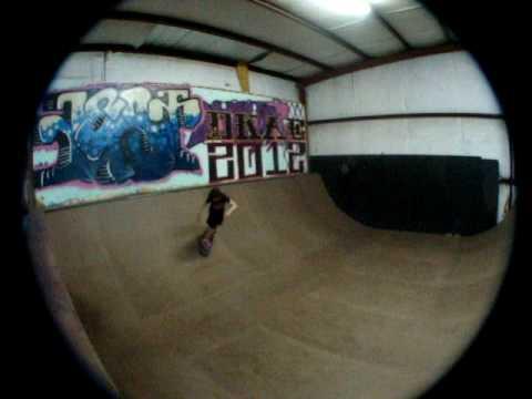 skateboarding at the xplex skatepark