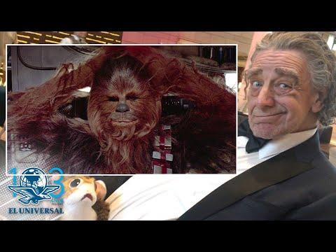 Que la fuerza te acompañe Chewbacca; muere Peter Mayhew
