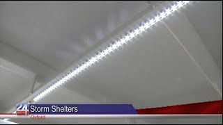 Oxford Fire Department Receives New Storm Shelters