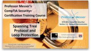 Spanning Tree Protocol and Loop Protection - CompTIA Security+ SY0-301: 1.2