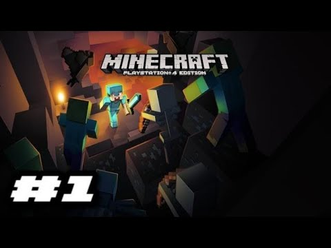 Minecraft PlayStation 4 Edition Gameplay - INTRODUCTION
